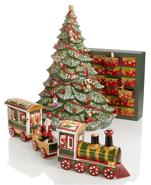 take a break from todays hustle and bustle to enjoy the vintage porcelain designs in villeroy bochs christmas ornaments and decor collection - Nostalgic Christmas Decorations