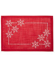 Bardwil Snowflake Cutout Placemat