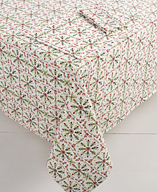 "Fiesta Winter Wonder 60"" x 84"" Tablecloth"