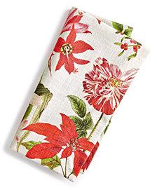 Split P Holiday Botanical Napkin