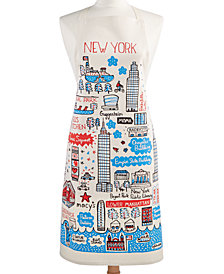 Macy's Exclusive Cityscape Apron Designed For Macys New York By Julia Gash.