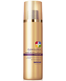 Pureology Nano Works Gold Conditioner, 6.8-oz., from PUREBEAUTY Salon & Spa