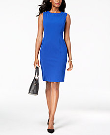 Kasper Jewel-Neck Sheath Dress, Regular & Petite Sizes