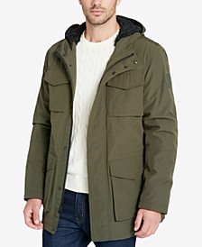 Men's Four-Pocket Jacket with Fleece Lining, Created for Macy's