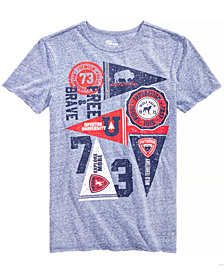 Epic Threads Big Boys Flags-Print T-Shirt, Created for Macy's