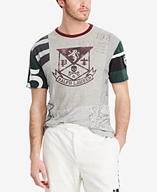 Polo Ralph Lauren Men's Classic Fit Patchwork Cotton T-Shirt