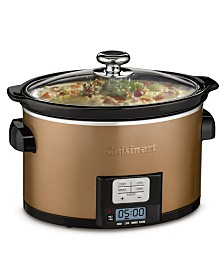 Cuisinart PSC-350CPP Programmable Slow Cooker, 3.5-Qt.