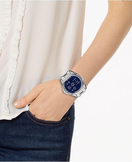 b70b30b5a24f ... Michael Kors Access Women s Digital Bradshaw Stainless Steel Bracelet  Smart Watch 45mm MKT5012 ...