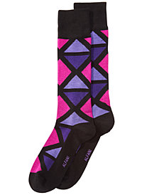 AlfaTech by Alfani Men's Geometric-Print Socks, Created for Macy's