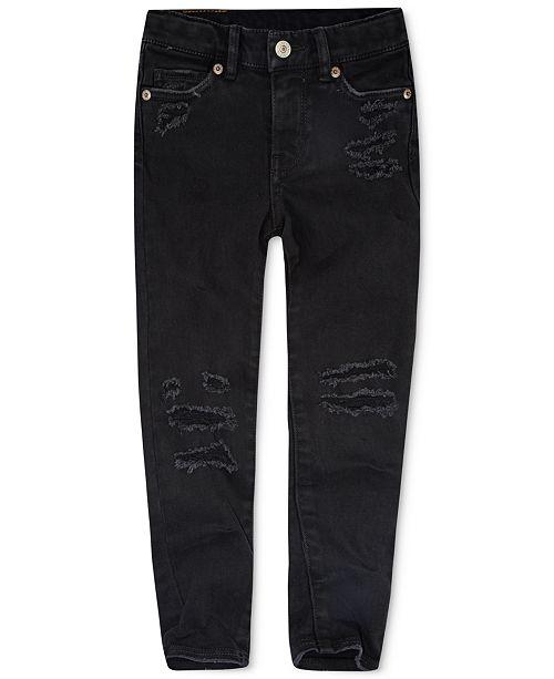 e57e87b1ed93 Levi s Little Girls Girls 710 Super Skinny Jeans   Reviews - Jeans ...