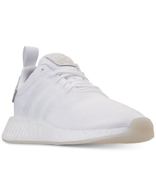 6c593e79f2c31 adidas Men s NMD R2 Casual Sneakers from Finish Line   Reviews ...
