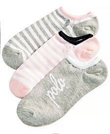 Polo Ralph Lauren Little & Big Girls 3-Pack Parisian Sporty Socks