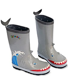 Toddler & Little Boys Shark Rain Boots