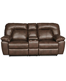 Jackson Manual Reclining Loveseat With Console