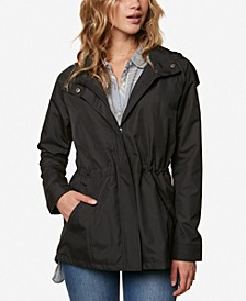 Juniors' Gale Waterproof Hooded Windbreaker