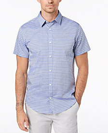 Calvin Klein Men's Horizontal Striped Shirt
