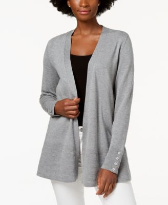 Image of Charter Club Open-Front Cardigan, Created for Macy's