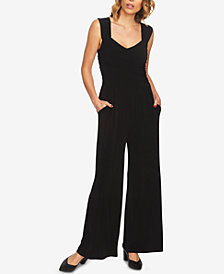 1.STATE Open-Back Wide-Leg Jumpsuit