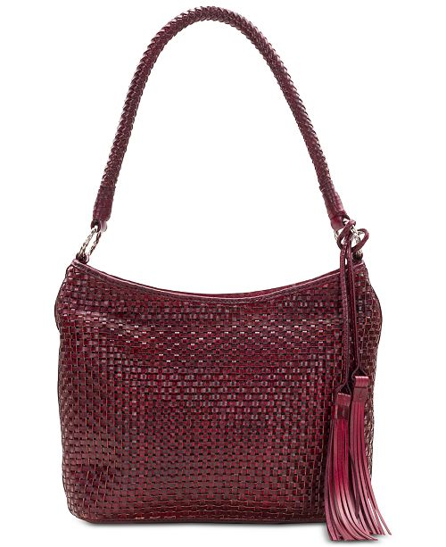 Patricia Nash Marcelli Woven Leather Hobo   Reviews - Handbags ...