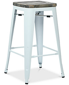"Galan 26"" Bar Stool (Set Of 4), Quick Ship"