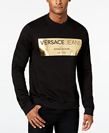 Versace Jeans Men's Block Logo Sweatshirt