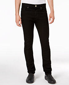 Versace Men's Slim-Fit Black Jeans