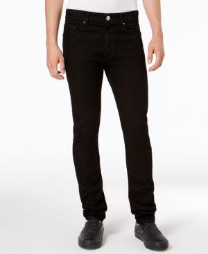 Versace Men's Slim-Fit Black Jeans 6542708