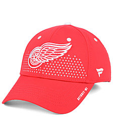 Authentic NHL Headwear Detroit Red Wings Draft Structured Flex Cap