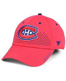 Authentic NHL Headwear Montreal Canadiens Draft Structured Flex Cap