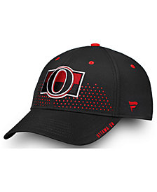 Authentic NHL Headwear Ottawa Senators Draft Structured Flex Cap