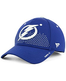 Authentic NHL Headwear Tampa Bay Lightning Draft Structured Flex Cap