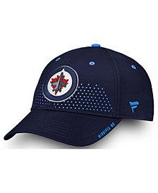 Authentic NHL Headwear Winnipeg Jets Draft Structured Flex Cap