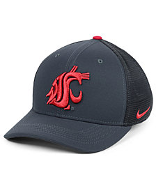 Nike Washington State Cougars Col Aro Swooshflex Cap