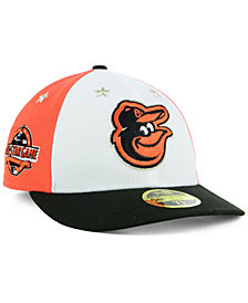New Era Baltimore Orioles All Star Game Patch Low Profile 59FIFTY Fitted Cap 2018