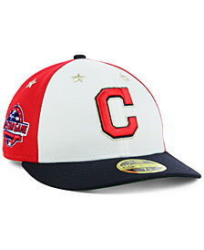 New Era Cleveland Indians All Star Game Patch Low Profile 59FIFTY Fitted Cap 2018