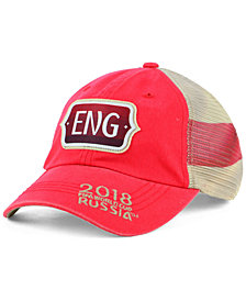Top of the World England World Cup Flagtacular Snapback Cap 2018