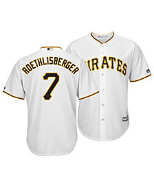 Majestic Men's Ben Roethlisberger Pittsburgh Pirates NFLPA Replica Cool Base Jersey