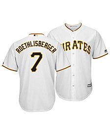 Majestic Men's Ben Roethlisberger Pittsburgh Pirates NFLPA Replica Cool Base Jersey