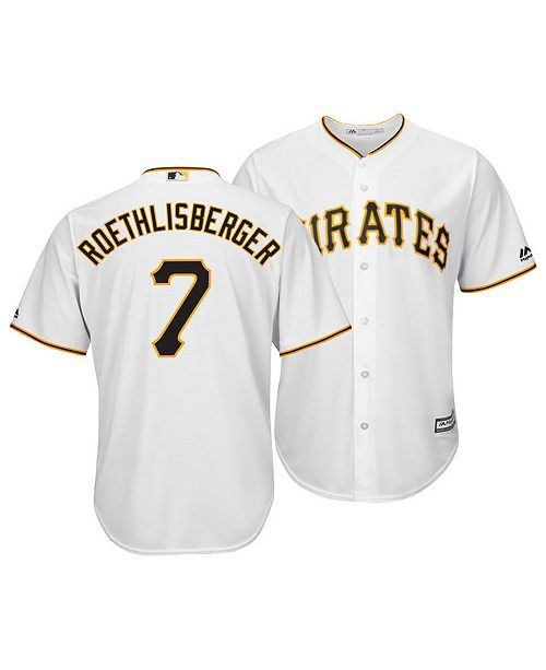 new products bf706 05a8e Majestic Men's Ben Roethlisberger Pittsburgh Pirates NFLPA ...