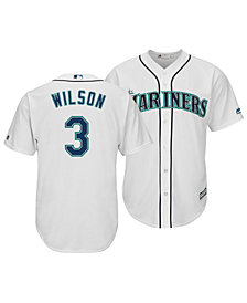 Majestic Men's Russell Wilson Seattle Mariners NFLPA Replica Cool Base Jersey