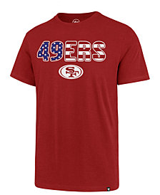 '47 Brand Men's San Francisco 49ers Spangled Banner Club T-Shirt