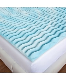Authentic Comfort Orthopedic 5-Zone Foam Mattress Toppers
