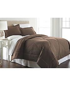 Micro Flannel® Twin Solid Color Comforter Mini Set