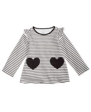 First Impressions Baby Girls Striped Hearts Tunic Created for Macys