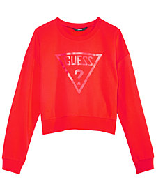 GUESS Big Girls Cropped Sweatshirt