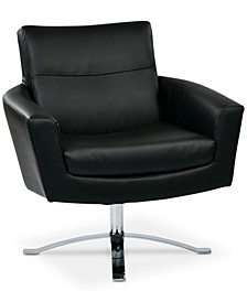 Duban Faux Leather Chair, Quick Ship
