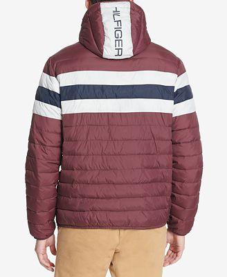 Tommy Hilfiger Men S Color Block Hooded Ski Coat Created For Macy S