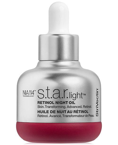 StriVectin S.T.A.R. Light Retinol Night Oil, 1-oz.