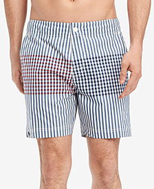 "Tommy Hilfiger Men's Parsons 6.5"" Board Shorts, Created for Macy's"