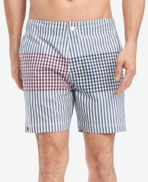 """Tommy Hilfiger Men's Parsons 6.5"""" Board Shorts, Created for Macy's"""